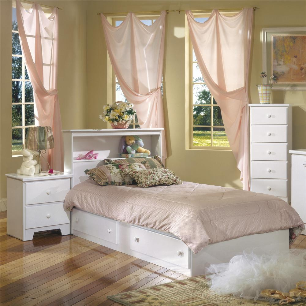 Sleep concepts mattress futon factory amish rustics furniture youth bedroom for White shaker bedroom furniture
